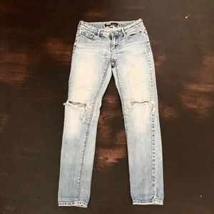BDG mid rise distressed jeans
